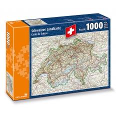 Schweizer Landkarte