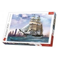 Segelschiff vor Chicago