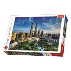Twin Towers in Kuala Lumpur - Malaysien