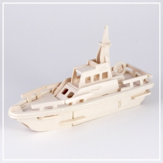 Yacht - 3D Holzpuzzle