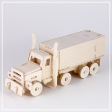 American Truck - 3D Holzpuzzle