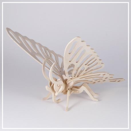 Schmetterling - 3D Holzpuzzle