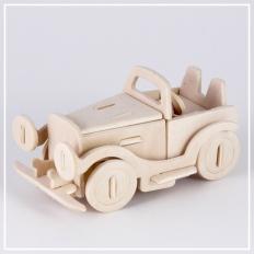 Oldtimer - 3D Holzpuzzle
