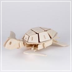 Meeresschildkröte - 3D Holzpuzzle
