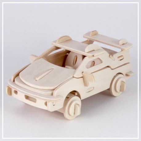 Ferrari - 3D Holzpuzzle