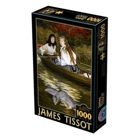 On the Thames, A Heron - James Tissot