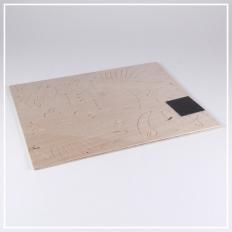Motorrad - 3D Holzpuzzle