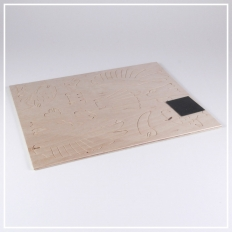 Hund - 3D Holzpuzzle