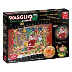 Eine unerwartete Lieferung für den Weihnachtsmann! - Wasgij Christmas 15