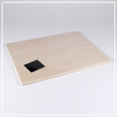 Nashorn - 3D Holzpuzzle