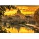 Goldenes Licht über Rom