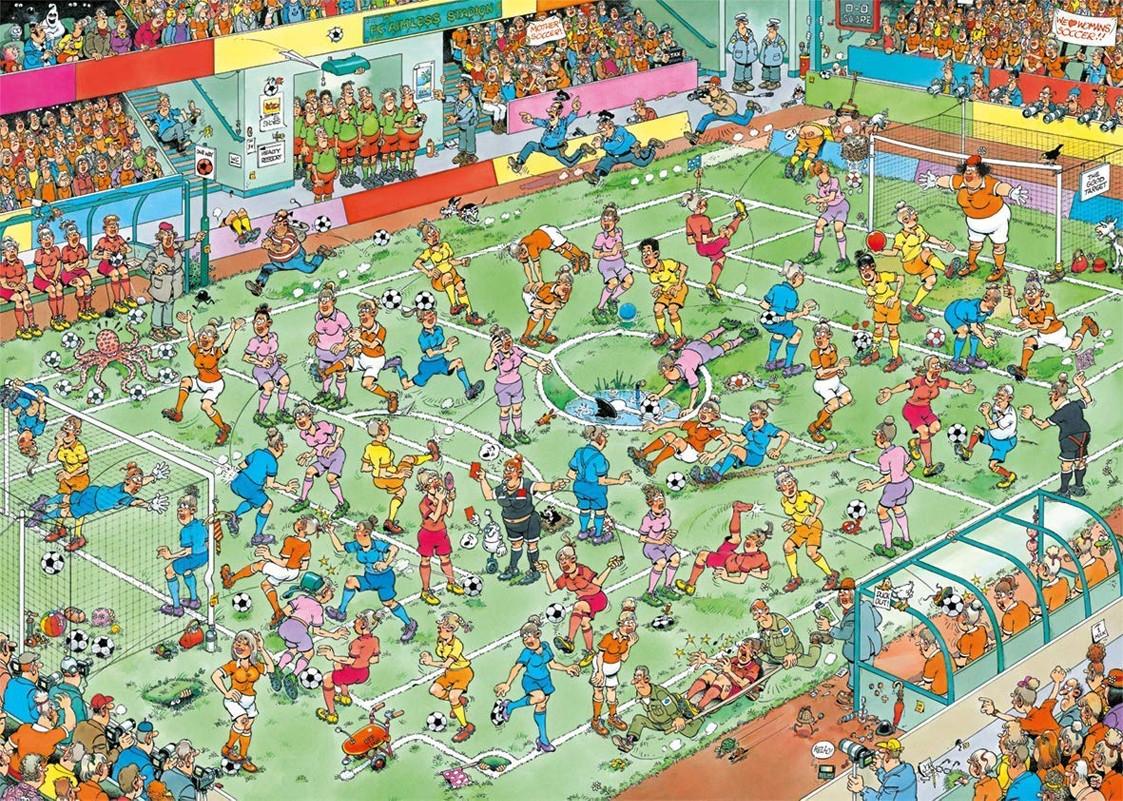 Puzzlefußball Weltmeisterschaft