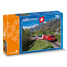 Glacier Express bei Stalden VS