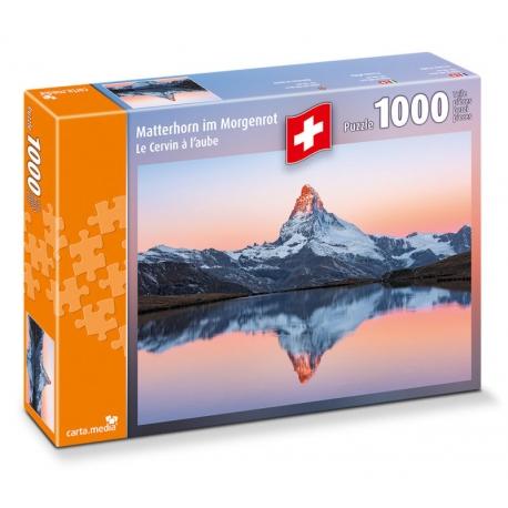Matterhorn im Morgenrot