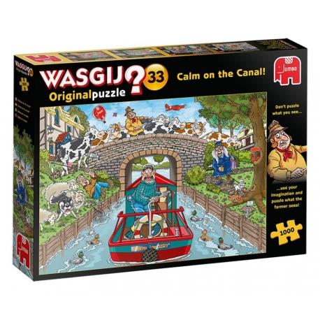 Ruhige Fahrt auf dem Kanal! - Wasgij Original 33