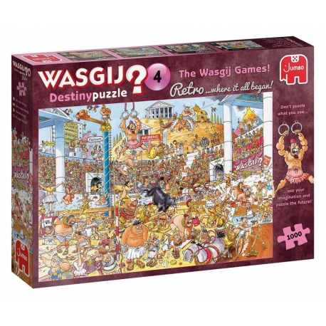 Die Wasgij Spiele! - Wasgij Retro Destiny 4