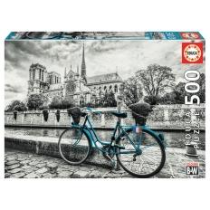 Bike near Notre Dame