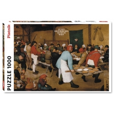 Bauernhochzeit um 1568 - Pieter Bruegel der Ältere