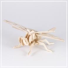 Libelle - 3D Holzpuzzle
