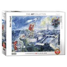 Ansicht von Paris -  Marc Chagall