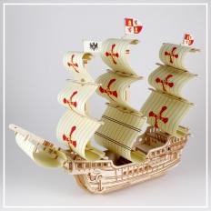 Santa Maria - 3D Holzpuzzle