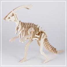 Parasaurolophus - 3D Holzpuzzle
