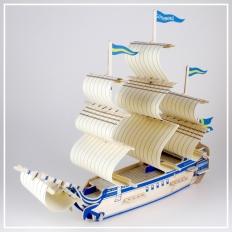 Gothenburg - 3D Holzpuzzle