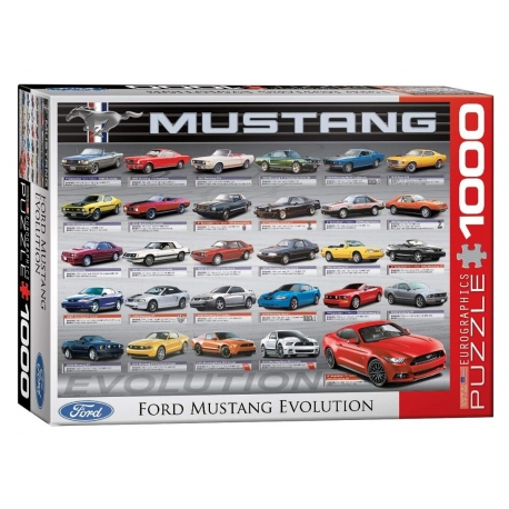Ford Mustang - Evolution