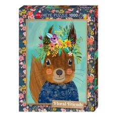 Sweet Squirrel - Floral Friends