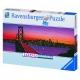 San Francisco - Oakland Bay Bridge bei Nacht