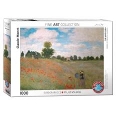 Das Mohnfeld - Claude Monet