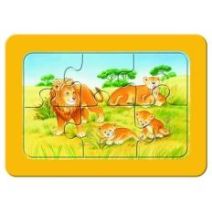 Affe - Elefant - Löwe