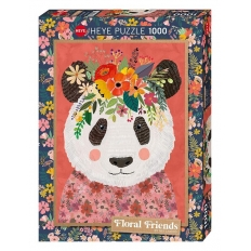 Cuddly Panda - Floral Friends