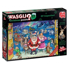 Bei den Weihnachtselfen - Wasgij Christmas 17