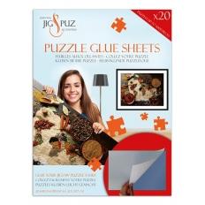 Puzzle Glue Sheets - Selbstklebende Puzzlefolie für 3000 Teile Puzzle - Jig & Puz