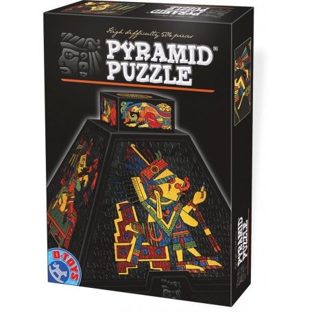 Präkolumbische Kunstfiguren - Puzzle Pyramide
