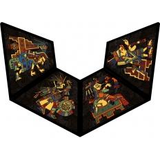 Präkolumbische Kunstfiguren - Puzzlepyramide