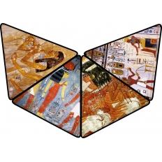 Ägyptische Wandmalereien - Puzzlepyramide