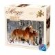 Galoppierende Haflingers - Magie der Pferde