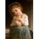 Kühles Mädchen - William Adolphe Bouguereau