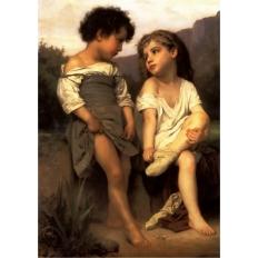 Am Ende des Baches - William Adolphe Bouguereau