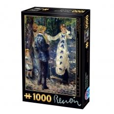 Die Schaukel - Pierre Auguste Renoir