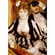 Die Loge - Pierre Auguste Renoir
