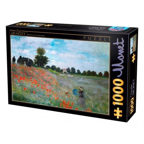 Mohnblumen Bei Argenteuil Claude Monet 1000 Teile D Toys