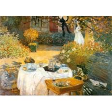 Das Frühstück - Claude Monet
