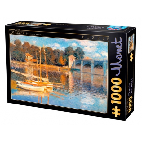 Die Brücke von Argenteuil - Claude Monet
