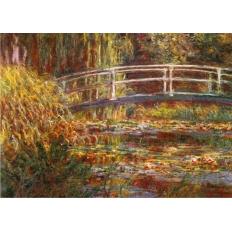 Die japanische Brücke - Claude Monet