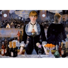 Bar in den Folies Bergère - Edouard Manet