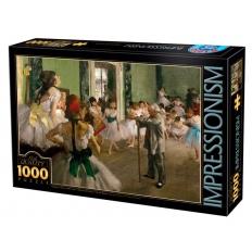 Die tanzende Klasse - Edgar Degas
