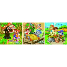 Märchen - Hänsel und Gretel - Rotkäppchen - Der gestiefelte Kater